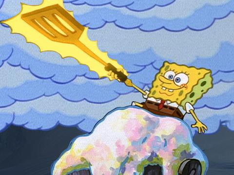 SpongeBob Golden Moment: Neptune's Golden Spatula