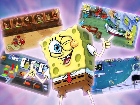 Krabby Patty Games