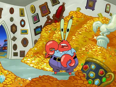 SpongeBob Golden Moment: A Money Avalanche