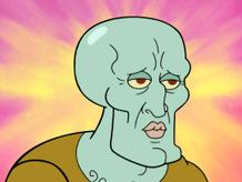 SpongeBob Golden Moment: Squidward's New Face