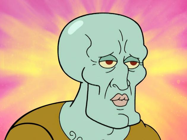 SpongeBob Golden Moment: Squidward's New Face