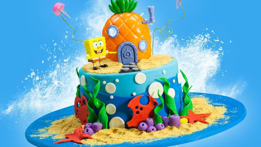 Decora o teu bolo à SpongeBob!