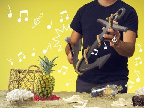 La sigla di Spongebob con gli oggetti!