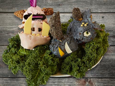 Arte in cucina: Bebop e Rocksteady