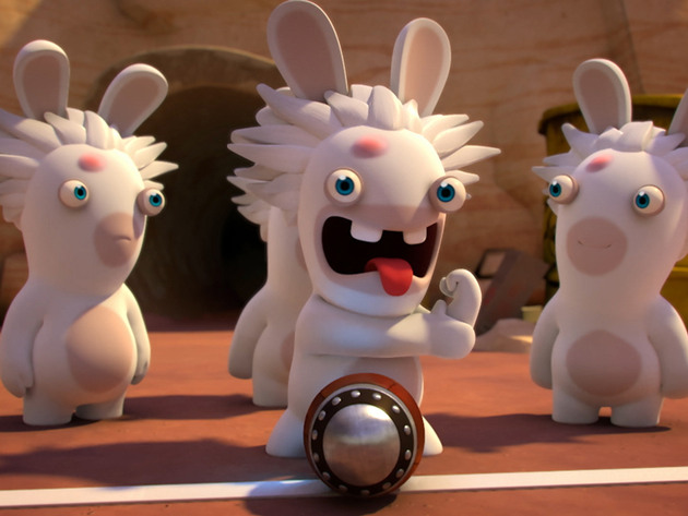 RABBIDS INVASION | Short | El rap de los Rabbids