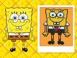 SpongeBob din bomboane