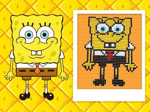 Spongebob fatto con le caramelle