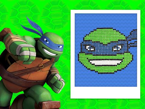 Teenage Mutant Ninja Turtles Candy Art