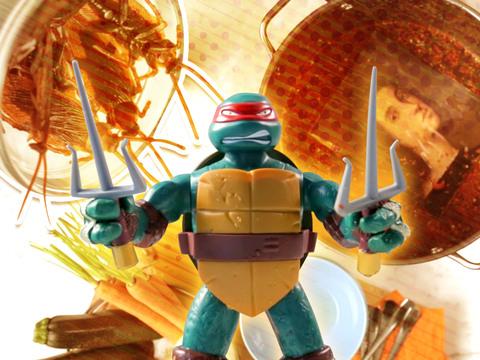 Las Tortugas Ninjas | Short | Sopa de Tortuga
