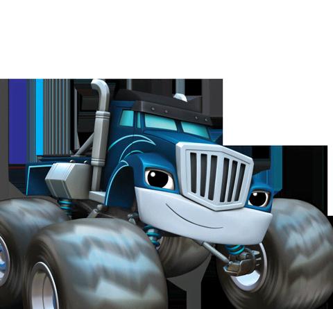 the blue machine