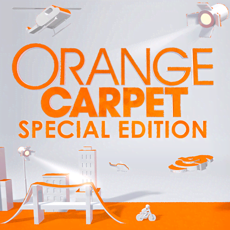 Orange Carpet