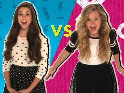 Крик звёзд Nickelodeon: Кира vs Брек