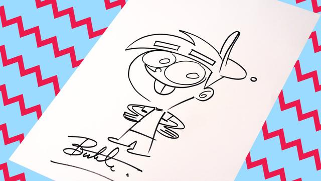 how to draw timmy turner nicktoons