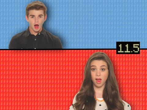 Nick Stars Burp-Off The Thundermans