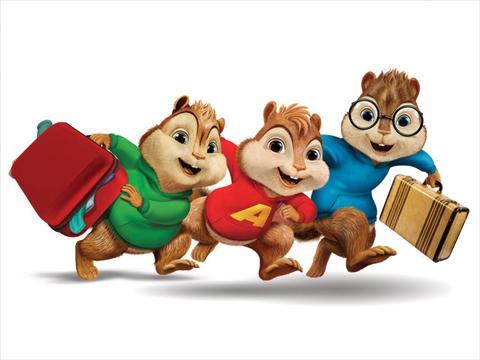 Orange Carpet: ALVINNN!!! e Os Esquilos