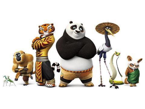 Orange Carpet: Imágenes de Kung Fu Panda 3