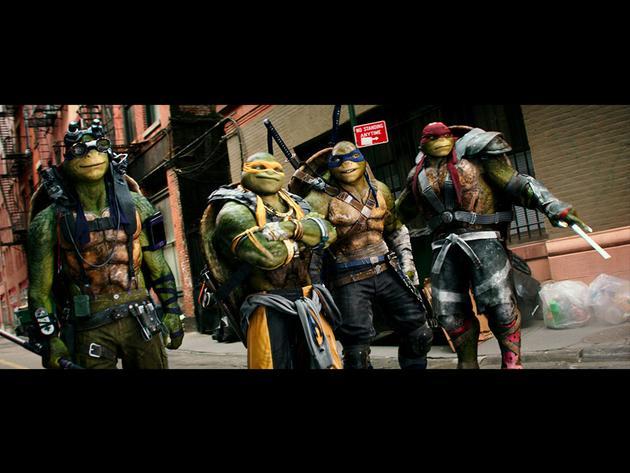 Orange Carpet: 'Tartarugas Ninja: Romper das Sombras'