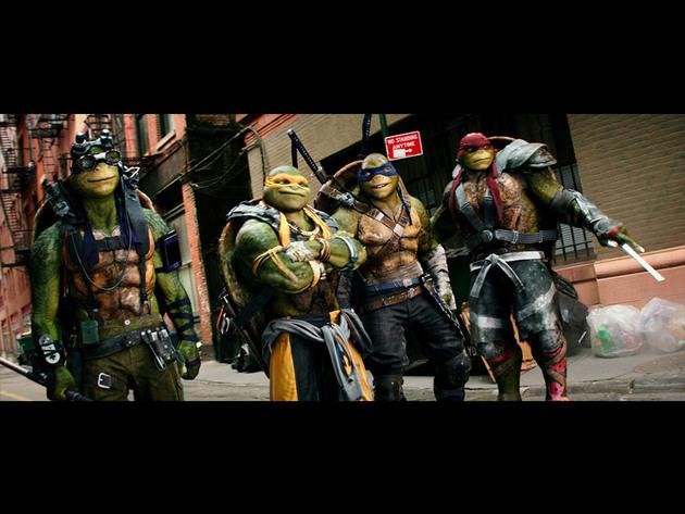 Orange Carpet: Tartarugas Ninja 2 - Fora das Sombras