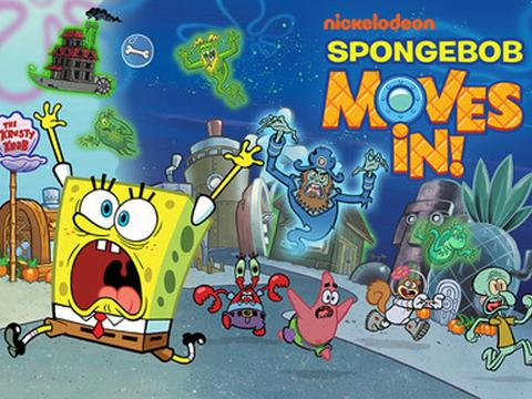 SpongeBob Moves In