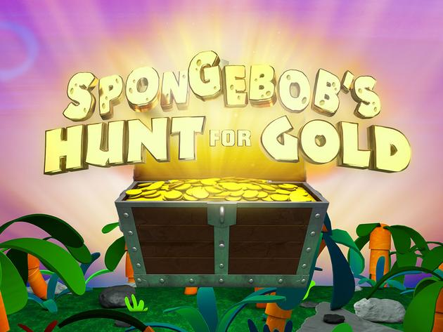 SpongeBob's Hunt For Gold