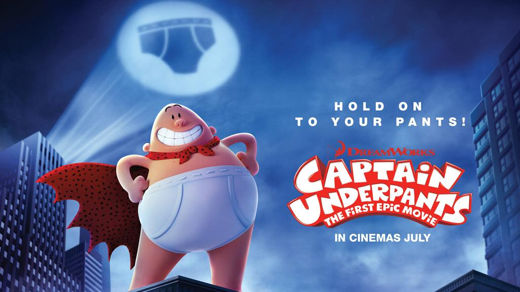 WIN SUPERHERO PRIZES WITH CAPTAIN UNDERPANTS!