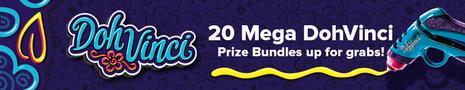 Doh Vinci - Win prizes!