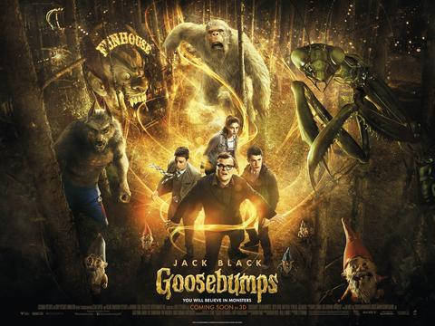 WIN A PRIVATE SCREENING OF GOOSEBUMPS FOR YOU AND YOUR FRIENDS!