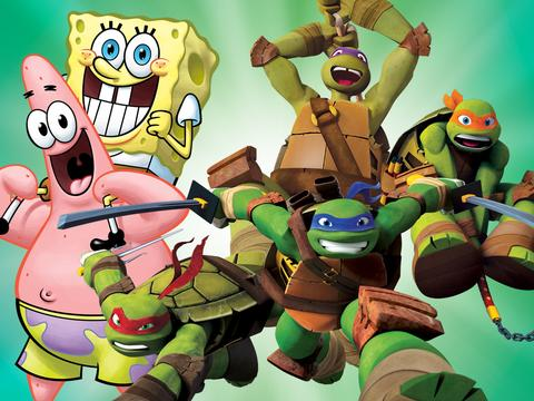 Shop for SpongeBob and Turtles Goodies