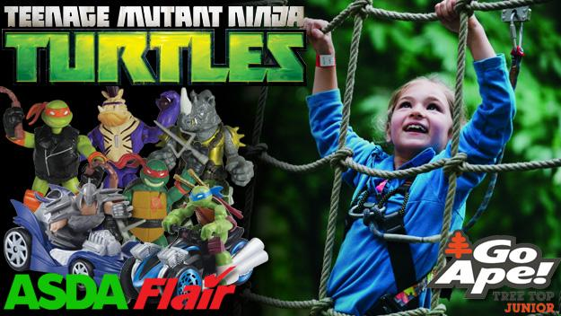 WIN an adventure day out and Turtles toys!