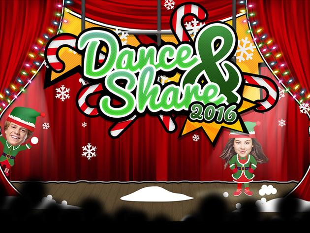 Dance and Share Christmas 2016