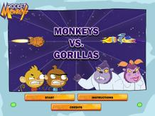 Monkeys Vs Gorillas