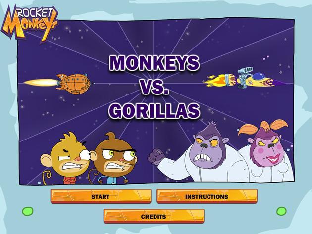 Monkeys Vs Gorillas