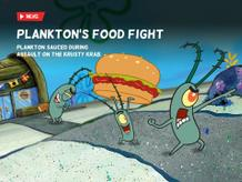 Bikini Bottom Bugle: Plankton's Food Fight