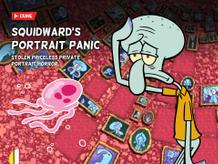 Bikini Bottom Bugle: Squidward's Portrait Panic