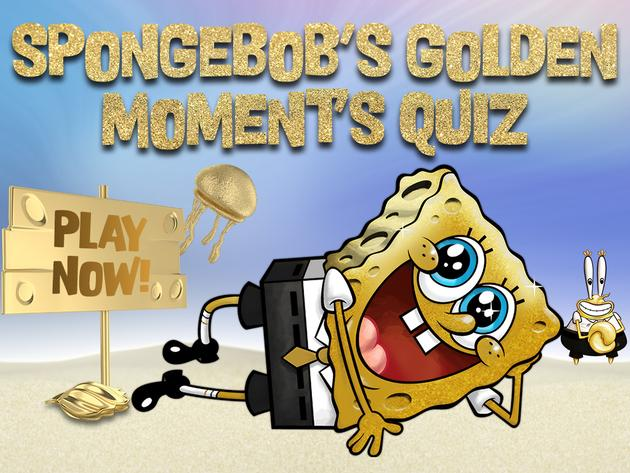 SpongeBob's Golden Moment's Quiz