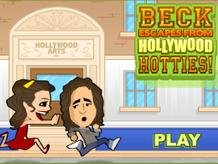 Beck Escapes From Hollywood Hotties