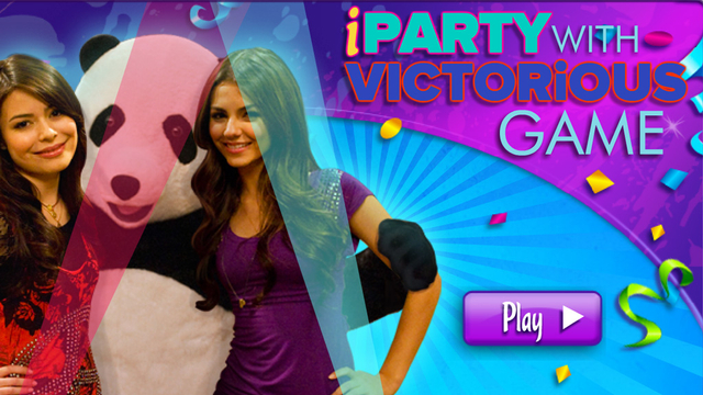 iparty with victorious quiz games