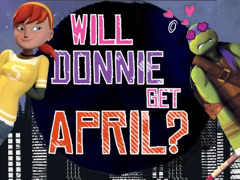 Will Donnie get April?