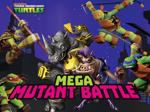 Nick Gamer - TMNT - Mega Mutant Battle
