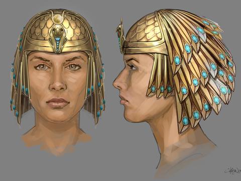 'Secret of the Tomb' Costumes