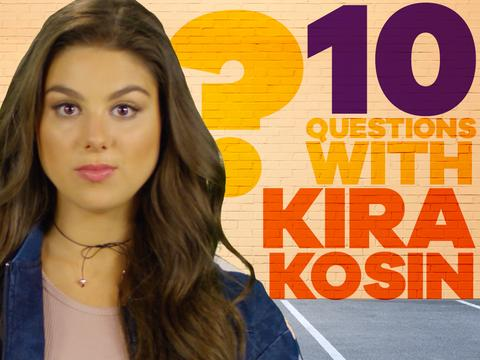 10 Questions in 30 Seconds! With Kira Kosarin