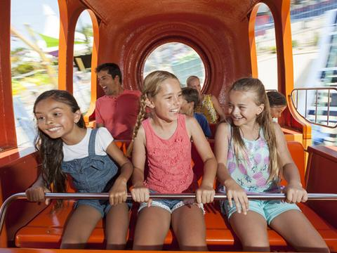 Check out Nickelodeon Land at Sea World