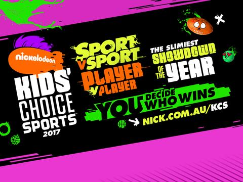 Kids' Choice Sports is coming!