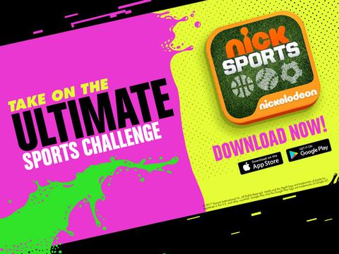 Nick Sports App! Download Now!