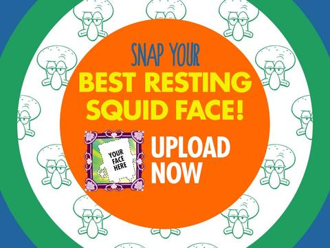 WIN! Smiling Squidward Plushie!