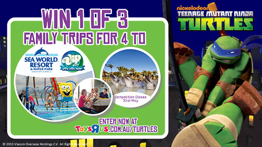 WIN: Toys R Us and Sea World Competition