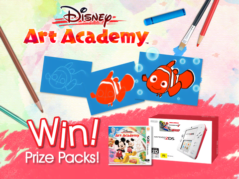 WIN! Disney Art Academy