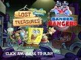 Danger Rangers play Spongebob Lost Treasures!