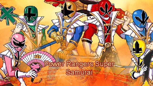 Power Rangers Samurai Super Samurai  Free Games for Kids  Nick