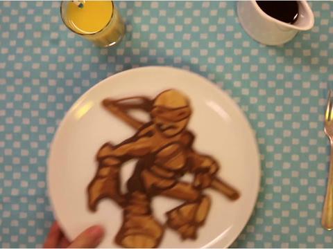 Ninja Turtle Pancake